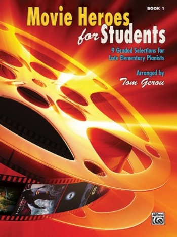 Movie Heroes For Students: Book 1: Late Elementary