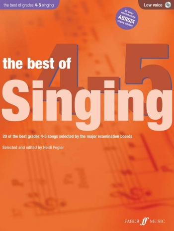 Best Of Singing Grade 4-5: Low Voice: Book And CD