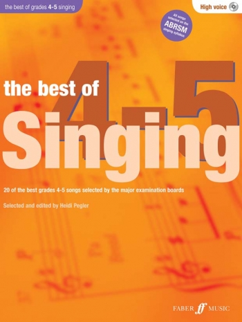 Best Of Singing Grade 4-5: High Voice: Book And CD