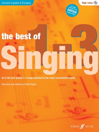 Best Of Singing Grade 1-3: High Voice: Book And CD