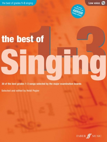 Best Of Singing Grade 1-3: Low Voice: Book And CD