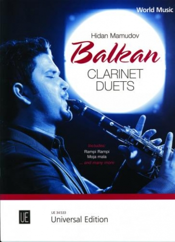 Balkan Clarinet Duets: Book Only: Clarinet Duet (Mamudov)