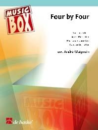 Four By Four: Clarinet Quartet : Score & Parts