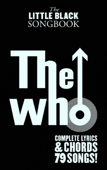 Little Black Songbook: The Who: Lyrics & Chords