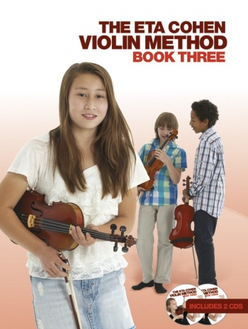 Eta Cohen Violin Method Book 3: Book And Cd