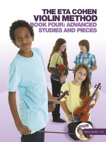 Eta Cohen Violin Method Book 4: Book And Cd