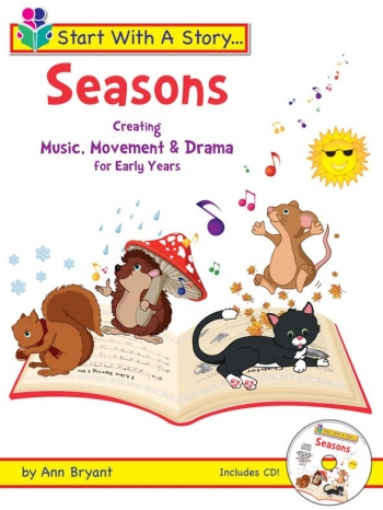 Start With A Story: Seasons: Early Years: Bk&Cd (Bryant)