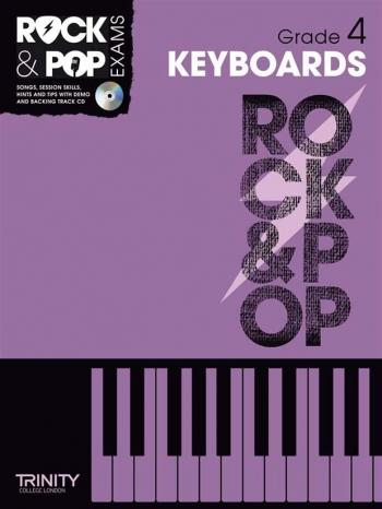 Rock & Pop Exams: Keyboard Grade 4 Book & Cd (Trinity)