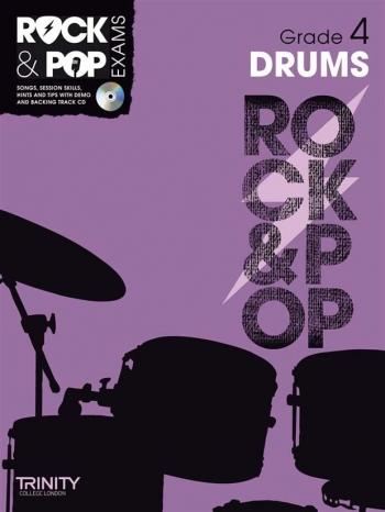 Rock & Pop Exams: Drums Grade 4: Book & Cd (Trinity)