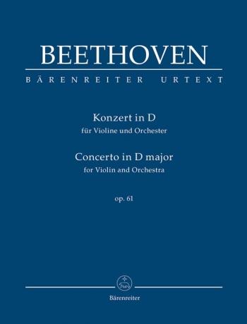 Violin Concerto D Op61: Study Score (Barenreiter)