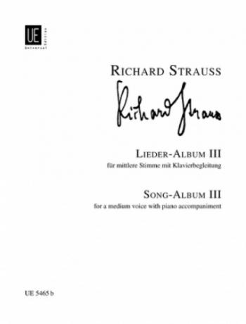 Lieder: Vo 3: Medium Voice And Piano