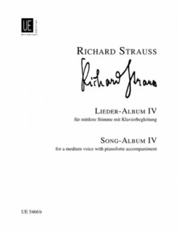Lieder: Vol 4: Medium Voice And Piano
