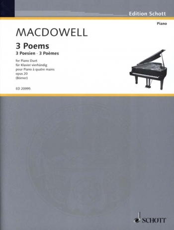 Three Poems: Piano Duet