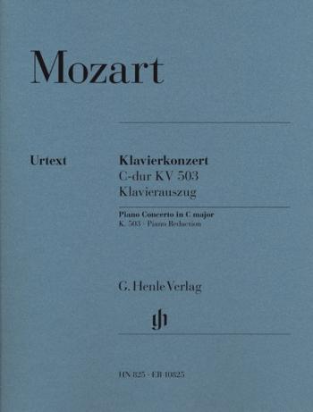 Piano Concerto In C Major:  Kv 503: Two Pianos (Henle)