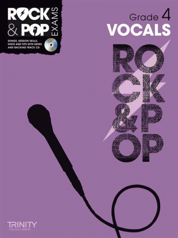 Rock & Pop Exams: Vocals Grade 4: Book & Cd (Trinity)