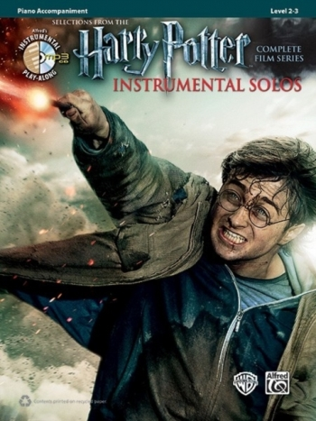 Harry Potter Complete Film Series: Piano Accompaniment: Book And Cd