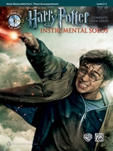 Harry Potter Complete Film Series: Viola And Piano Accompaniment: Book And Cd