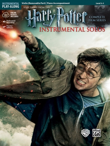 Harry Potter Complete Film Series: Violin And Piano Accompaniment: Book And Cd