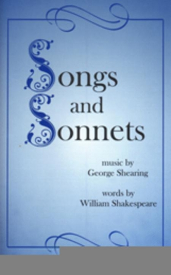 Songs And Sonnets: SATB And Piano  (Shearing)