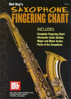 Mel Bays Saxophone Fingering Chart