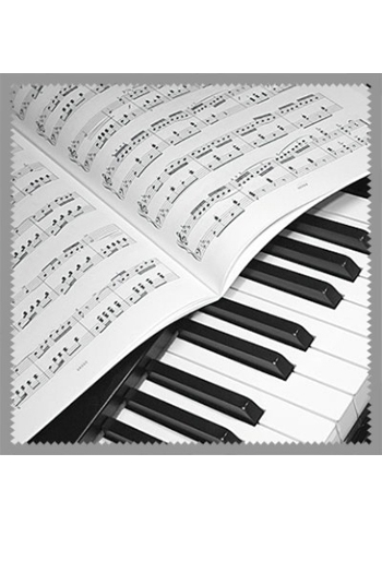 Glasses Cleaner: Piano & Sheet Music Design