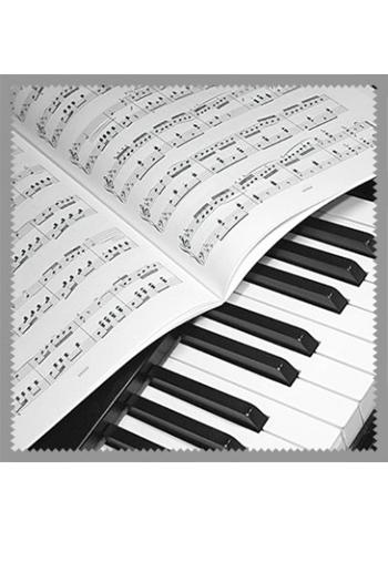 Glasses Cleaner: Piano & Sheet Music Design
