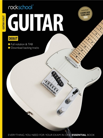 Rockschool Guitar Debut (2012-2018): Book & Audio Tracks