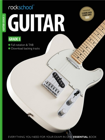 Rockschool Guitar Grade 3 (2012-2018): Book & Audio Tracks