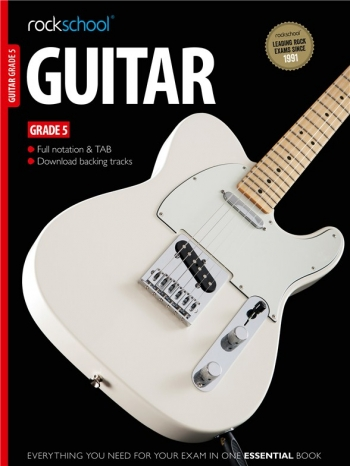 Rockschool Guitar Grade 5 (2012-2018): Book & Audio Tracks