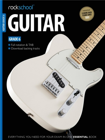 Rockschool Guitar Grade 6 (2012-2018): Book & Audio Tracks