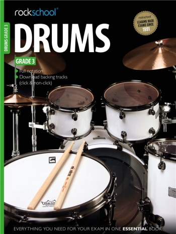 Rockschool Drums Grade 3 (2012-2018): Book & Audio Tracks