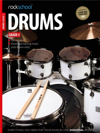 Rockschool Drums Grade 5 (2012-2018): Book & Audio Tracks