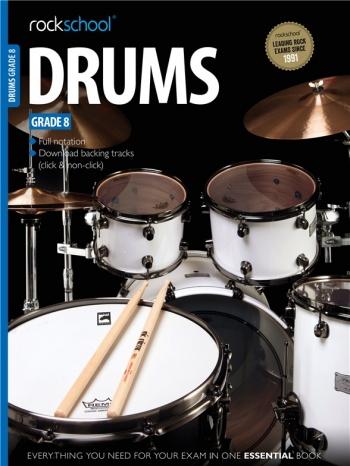 Rockschool Drums Grade 8 (2012-2018): Book & Audio Tracks