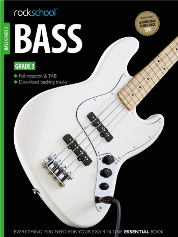 Rockschool Bass Guitar Grade 3 (2012-2018): Book & Audio Tracks