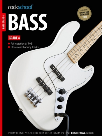 Rockschool Bass Guitar Grade 4 (2012-2018): Book & Audio Tracks