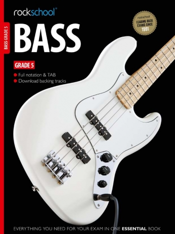 Rockschool Bass Guitar Grade 5 (2012-2018): Book & Audio Tracks