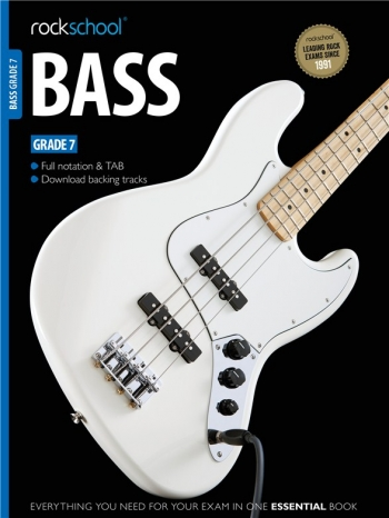 Rockschool Bass Guitar Grade 7 (2012-2018): Book & Audio Tracks