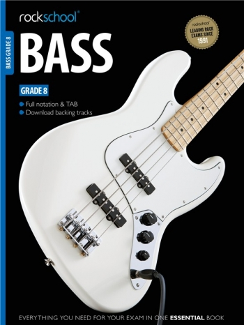 Rockschool Bass Guitar Grade 8 (2012-2018): Book & Audio Tracks