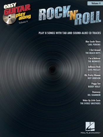 Easy Guitar Playalong: Vol 4: Rock N Roll