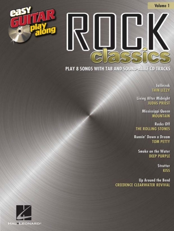 Easy Guitar Playalong: Vol 1: Rock Classics