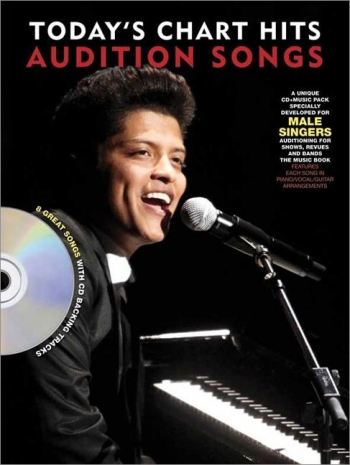 Audition Songs For Male Singers: Todays Chart Hits: Book & Cd