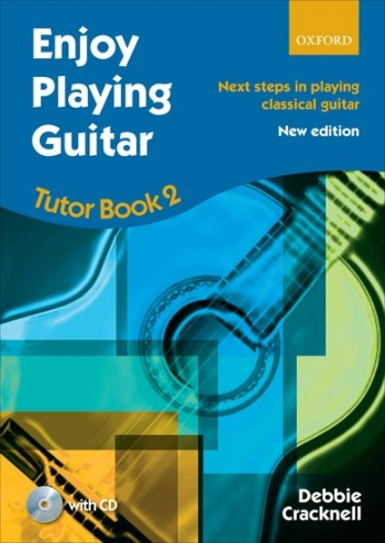 Enjoy Playing The Guitar Tutor Book 2 : Book & Cd
