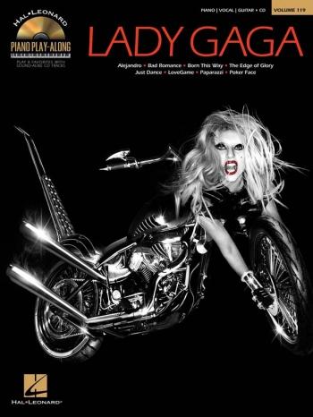 Piano Play-Along Volume 119: Lady Gaga: Bk&Cd