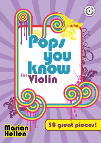 Pops You Know 30 Great Pieces: Violin  Book & Cd