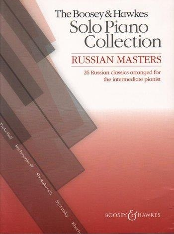 Boosey And Hawkes Solo Piano Collection: Russian Masters