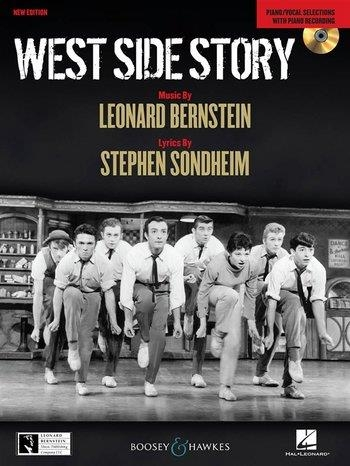 West Side Story: Piano And Vocal Selections: Book And Audio