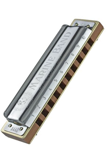 Hohner Marine Band 1896 Classic: A Major Diatonic Harmonica