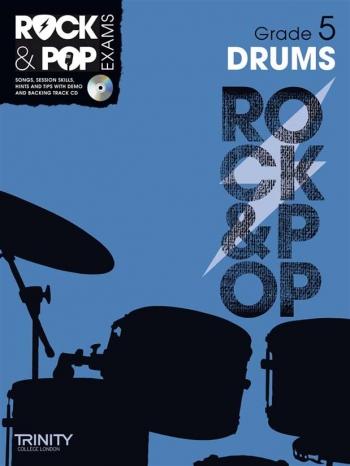 Rock & Pop Exams: Drums Grade 5: Book & Cd (Trinity)