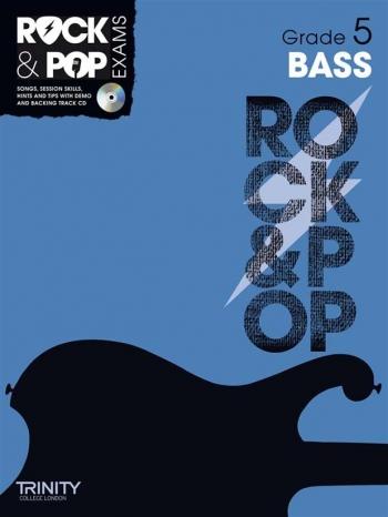 Rock & Pop Exams: Bass Guitar Grade 3: Book & CD (Trinity)