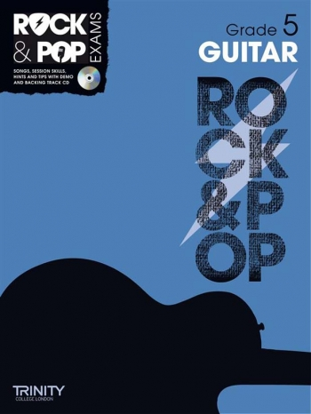 Rock & Pop Exams: Guitar Grade 5: Book & Cd (Trinity)